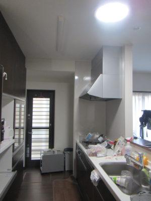 明るくなったキッチン